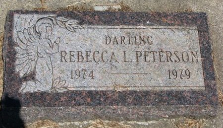 PETERSON, REBECCA LEE - Union County, South Dakota | REBECCA LEE PETERSON - South Dakota Gravestone Photos