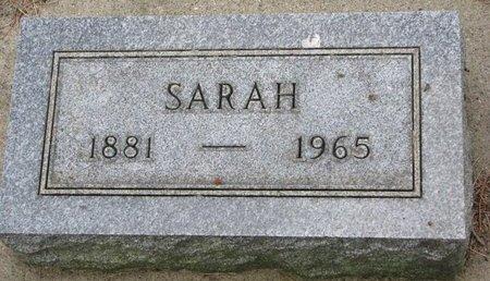 PETERSON, SARAH - Union County, South Dakota   SARAH PETERSON - South Dakota Gravestone Photos