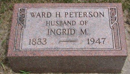 PETERSON, WARD H. - Union County, South Dakota   WARD H. PETERSON - South Dakota Gravestone Photos