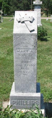 KEVILL PHILLIPS, MARY A. - Union County, South Dakota | MARY A. KEVILL PHILLIPS - South Dakota Gravestone Photos