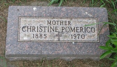 POMERICO, CHRISTINE - Union County, South Dakota | CHRISTINE POMERICO - South Dakota Gravestone Photos