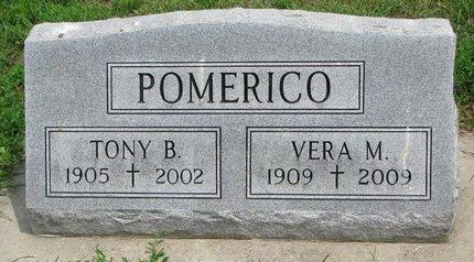 "POMERICO, ANTHONY ""TONY"" BERNARD - Union County, South Dakota | ANTHONY ""TONY"" BERNARD POMERICO - South Dakota Gravestone Photos"