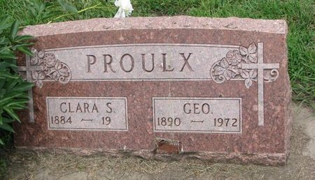 PROULX, GEORGE - Union County, South Dakota | GEORGE PROULX - South Dakota Gravestone Photos