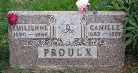 PROULX, CAMILLE - Union County, South Dakota | CAMILLE PROULX - South Dakota Gravestone Photos