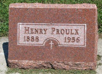 PROULX, HENRY - Union County, South Dakota | HENRY PROULX - South Dakota Gravestone Photos