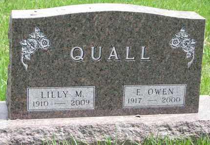 QUALL, LILLY M. - Union County, South Dakota | LILLY M. QUALL - South Dakota Gravestone Photos
