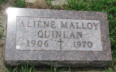 QUINLAN, ALIENE - Union County, South Dakota | ALIENE QUINLAN - South Dakota Gravestone Photos