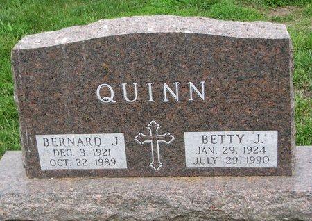 QUINN, BETTY J. - Union County, South Dakota | BETTY J. QUINN - South Dakota Gravestone Photos