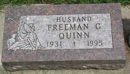 QUINN, FREEMAN G. - Union County, South Dakota | FREEMAN G. QUINN - South Dakota Gravestone Photos