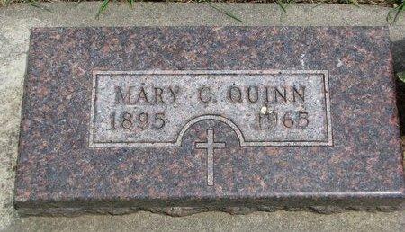 QUINN, MARY C. - Union County, South Dakota | MARY C. QUINN - South Dakota Gravestone Photos