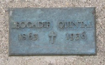 QUINTAL, LEOCADIE - Union County, South Dakota | LEOCADIE QUINTAL - South Dakota Gravestone Photos