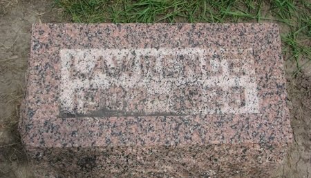 QUINTAL, LAWRENCE - Union County, South Dakota   LAWRENCE QUINTAL - South Dakota Gravestone Photos