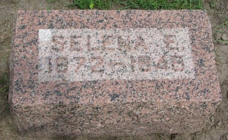 "QUINTAL, SELENA E. ""SELMA"" - Union County, South Dakota | SELENA E. ""SELMA"" QUINTAL - South Dakota Gravestone Photos"