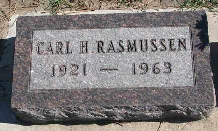 RASMUSSEN, CARL H. - Union County, South Dakota   CARL H. RASMUSSEN - South Dakota Gravestone Photos