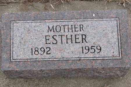 ANDERSON RASMUSSEN, ESTHER - Union County, South Dakota | ESTHER ANDERSON RASMUSSEN - South Dakota Gravestone Photos