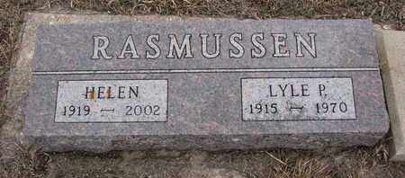 RASMUSSEN, LYLE PHILIP - Union County, South Dakota | LYLE PHILIP RASMUSSEN - South Dakota Gravestone Photos