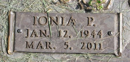 RASMUSSEN, IONIA P. (CLOSE UP) - Union County, South Dakota   IONIA P. (CLOSE UP) RASMUSSEN - South Dakota Gravestone Photos