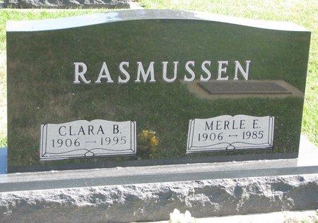 RASMUSSEN, MERLE E. - Union County, South Dakota | MERLE E. RASMUSSEN - South Dakota Gravestone Photos