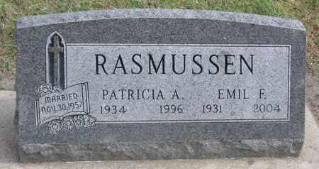 RASMUSSEN, PATRICIA A. - Union County, South Dakota | PATRICIA A. RASMUSSEN - South Dakota Gravestone Photos