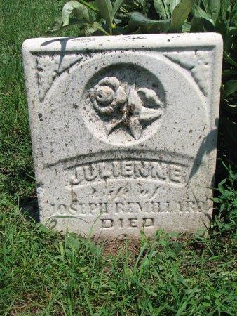 REMILLARD, JULIENNE - Union County, South Dakota | JULIENNE REMILLARD - South Dakota Gravestone Photos