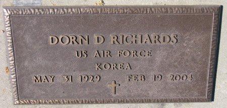 "RICHARDS, DORN DUANE ""DICK"" (KOREA) - Union County, South Dakota | DORN DUANE ""DICK"" (KOREA) RICHARDS - South Dakota Gravestone Photos"