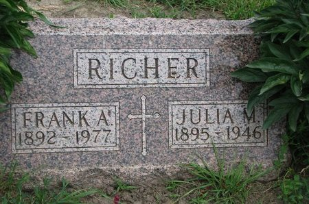 RICHER, JULIA M. - Union County, South Dakota | JULIA M. RICHER - South Dakota Gravestone Photos