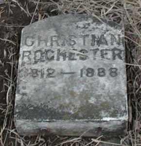ROCHESTER, CHRISTIAN - Union County, South Dakota | CHRISTIAN ROCHESTER - South Dakota Gravestone Photos