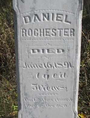 ROCHESTER, DANIEL (CLOSEUP) - Union County, South Dakota | DANIEL (CLOSEUP) ROCHESTER - South Dakota Gravestone Photos
