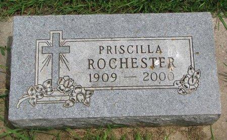 ROCHESTER, PRISCILLA - Union County, South Dakota | PRISCILLA ROCHESTER - South Dakota Gravestone Photos