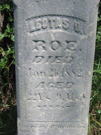 ROE, LEOTAS D. (CLOSEUP) - Union County, South Dakota | LEOTAS D. (CLOSEUP) ROE - South Dakota Gravestone Photos