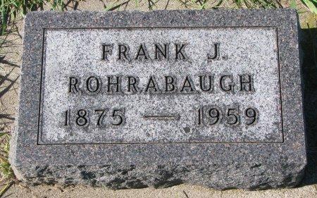 ROHRABAUGH, FRANK J. - Union County, South Dakota | FRANK J. ROHRABAUGH - South Dakota Gravestone Photos