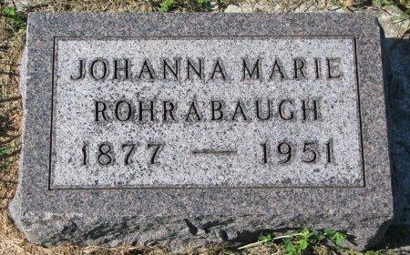 ROHRABAUGH, JOHANNA MARIE - Union County, South Dakota | JOHANNA MARIE ROHRABAUGH - South Dakota Gravestone Photos