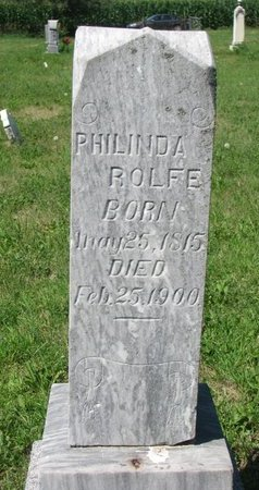 ROLFE, PHILINDA - Union County, South Dakota | PHILINDA ROLFE - South Dakota Gravestone Photos