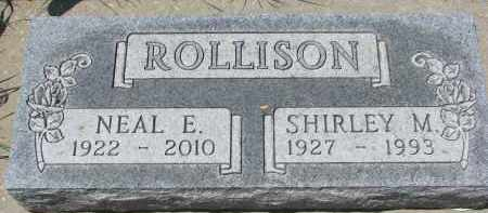 ROLLISON, NEAL E. - Union County, South Dakota | NEAL E. ROLLISON - South Dakota Gravestone Photos