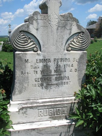 RUBIDA, GEORGE - Union County, South Dakota | GEORGE RUBIDA - South Dakota Gravestone Photos