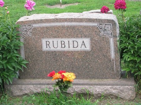 RUBIDA, *FAMILY MONUMENT-LAWRENCE U. & RUTH - Union County, South Dakota | *FAMILY MONUMENT-LAWRENCE U. & RUTH RUBIDA - South Dakota Gravestone Photos