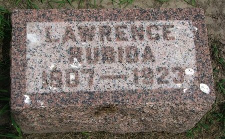 RUBIDA, LAWRENCE BEAUBIER - Union County, South Dakota | LAWRENCE BEAUBIER RUBIDA - South Dakota Gravestone Photos