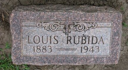 RUBIDA, LOUIS - Union County, South Dakota | LOUIS RUBIDA - South Dakota Gravestone Photos