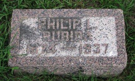 RUBIDA, PHILIP L. - Union County, South Dakota | PHILIP L. RUBIDA - South Dakota Gravestone Photos