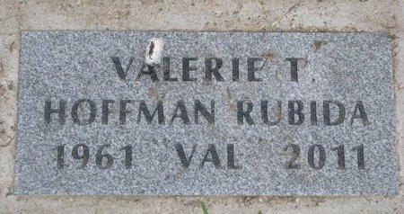"HOFFMAN RUBIDA, VALERIE THERESA ""VAL"" - Union County, South Dakota | VALERIE THERESA ""VAL"" HOFFMAN RUBIDA - South Dakota Gravestone Photos"