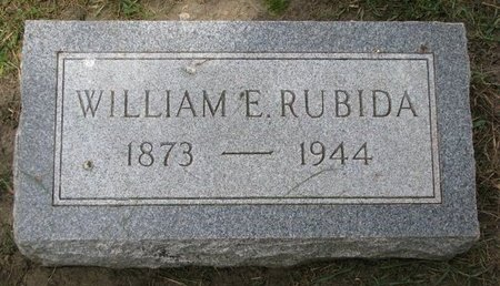 RUBIDA, WILLIAM E. - Union County, South Dakota | WILLIAM E. RUBIDA - South Dakota Gravestone Photos