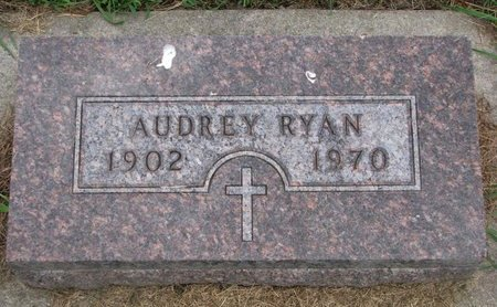 RYAN, AUDREY - Union County, South Dakota | AUDREY RYAN - South Dakota Gravestone Photos