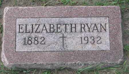 RYAN, ELIZABETH - Union County, South Dakota | ELIZABETH RYAN - South Dakota Gravestone Photos
