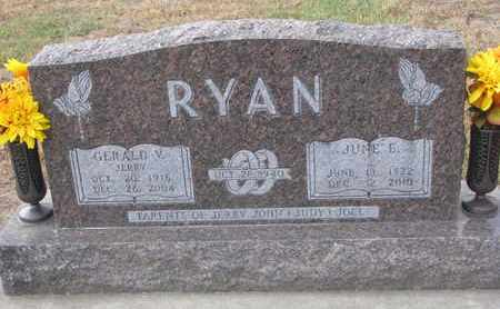RYAN, JUNE ELAINE - Union County, South Dakota | JUNE ELAINE RYAN - South Dakota Gravestone Photos
