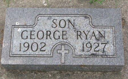 RYAN, GEORGE - Union County, South Dakota   GEORGE RYAN - South Dakota Gravestone Photos