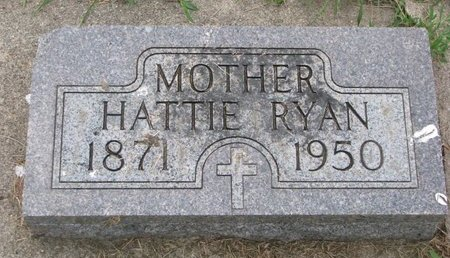RYAN, HATTIE - Union County, South Dakota | HATTIE RYAN - South Dakota Gravestone Photos