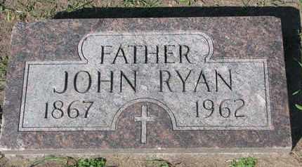 RYAN, JOHN - Union County, South Dakota   JOHN RYAN - South Dakota Gravestone Photos