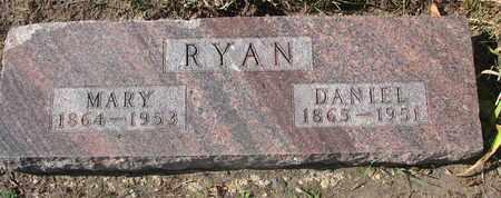 RYAN, DANIEL - Union County, South Dakota | DANIEL RYAN - South Dakota Gravestone Photos