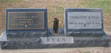 RYAN, RAYMOND S. (WORLD WAR II) - Union County, South Dakota | RAYMOND S. (WORLD WAR II) RYAN - South Dakota Gravestone Photos