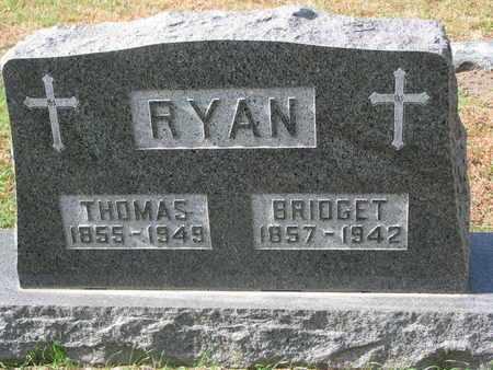 RYAN, THOMAS - Union County, South Dakota | THOMAS RYAN - South Dakota Gravestone Photos